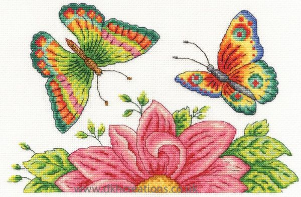Butterly Garden Cross Stitch Kit